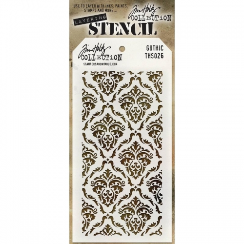 Tim Holtz Layered Stencil - Gothic
