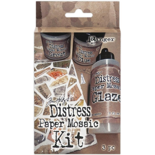Distress Paper Mosaic Kit