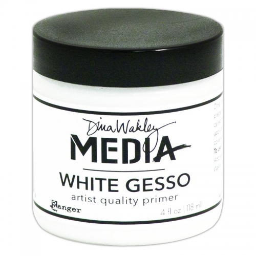 Dina Wakley Media Gesso White 4Oz