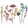 Sizzix Thinlits Dies by Tim Holtz - Wildflowers
