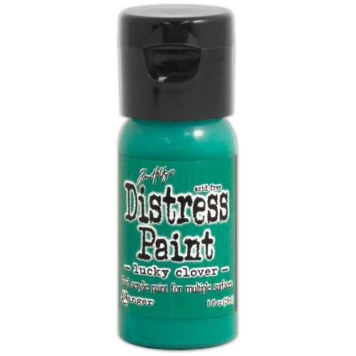 Distress Paint Flip Cap - Lucky Clover