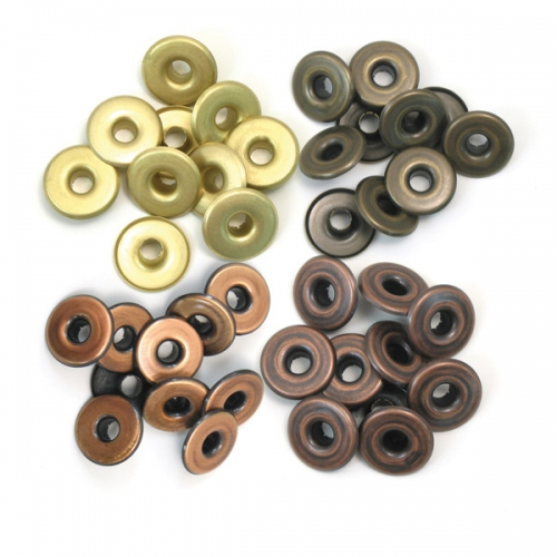 Eyelets aluminium wide copper warm metal