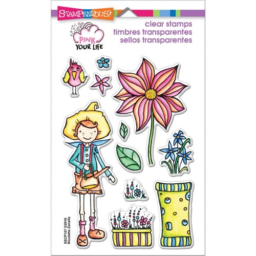 Stampendous Perfectly Clear Stamps - Whisper Garden