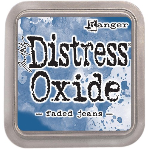 Tinta Distress Oxide Tim Holtz - Faded jeans