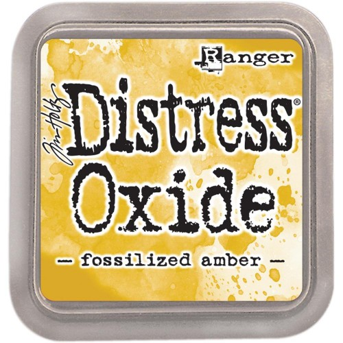 Tinta Distress Oxide Tim Holtz - Fossilized Amber