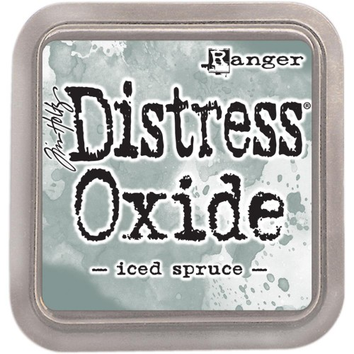 Tinta Distress Oxide Tim Holtz - Iced Spruce