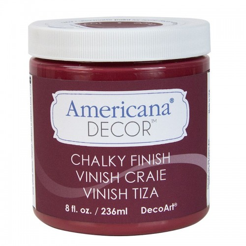 Pintura Americana Chalky finish. Rouge