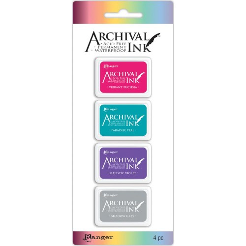 Archival Mini Ink Pad - Kit 4