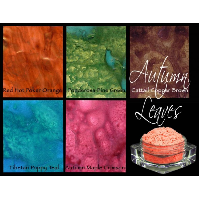 Polvos Lindy's Stamp Gang Autumn Leaves Magical