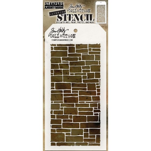 Tim Holtz Layered Stencil - Slate