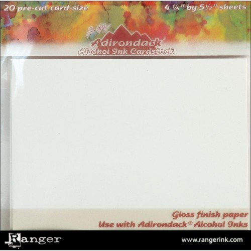 Adirondack Alcohol Ink Cardstock By Tim Holtz