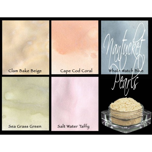Polvos Lindy's Stamp Gang Nantucket Pearls Magical