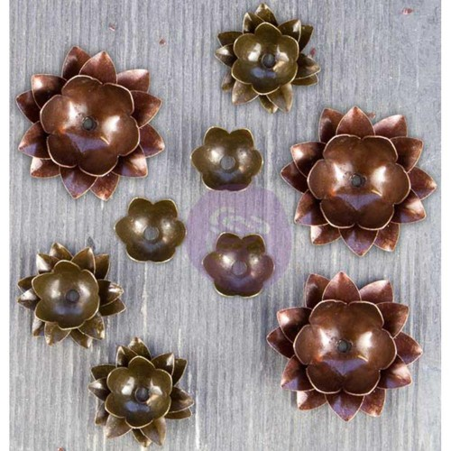 Finnabair Mechanicals Metal Embellishments - Lotus