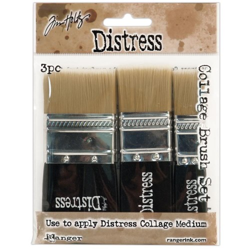 Tim Holtz Distress Collage Brush Kit