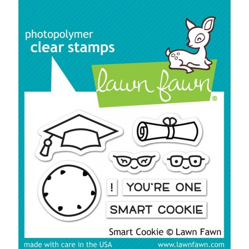 Lawn Fawn Clear Stamps - Smart Cookie