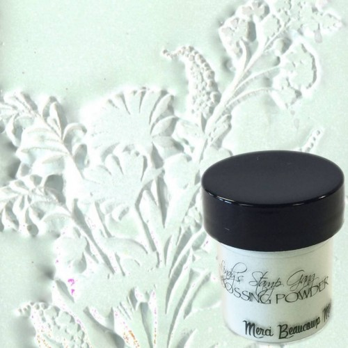 Polvos embossing Lindy's Stamp - Merci Beaucoup Mint