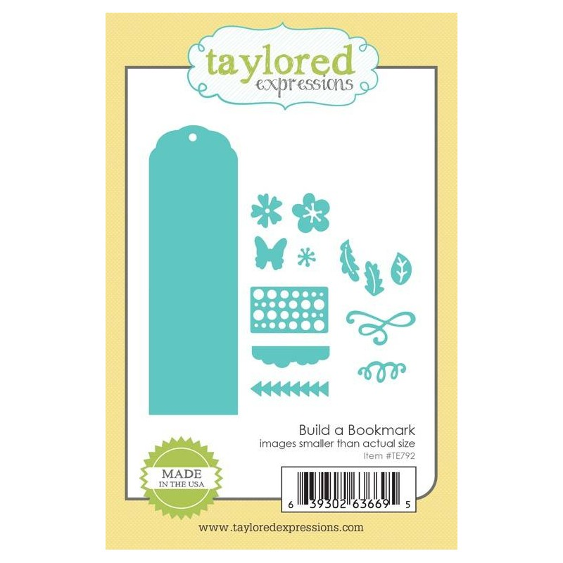 Troqueles Taylored Expressions Build a Bookmark