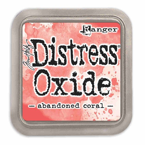 Tinta Distress Oxide Tim Holtz - Abandoned Coral
