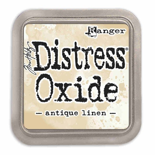 Tinta Distress Oxide Tim Holtz - Antique linen