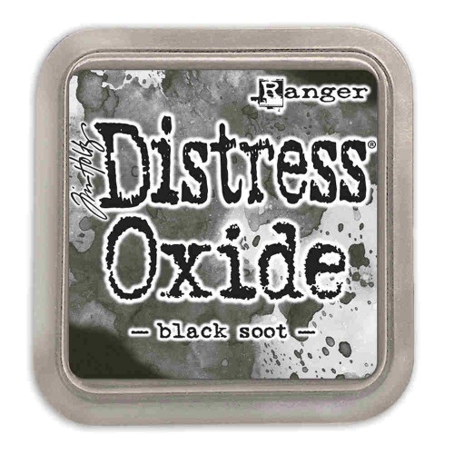Tinta Distress Oxide Tim Holtz - Black Soot