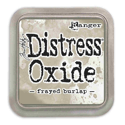 Tinta Distress Oxide Tim Holtz - Frayed Burlap