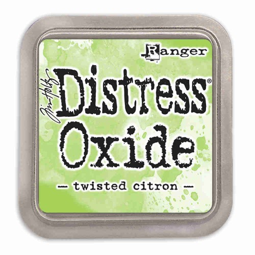 Tinta Distress Oxide Tim Holtz - Twisted Citron