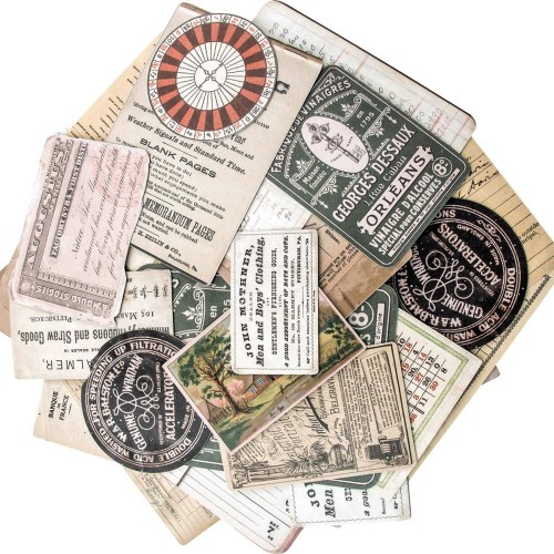 Tim Holtz-Idea Ology Layers Cards.