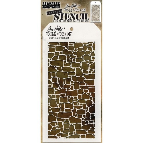 Tim Holtz Layered Stencil - Stone