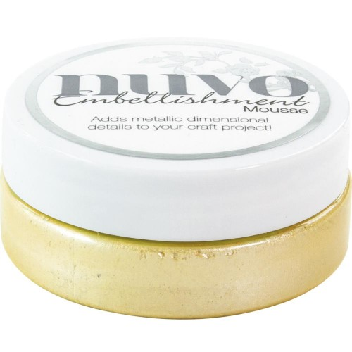 Nuvo Embellishment Mousse - Lemon Sorbet