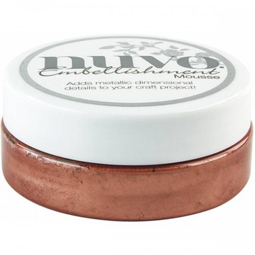 Nuvo Embellishment Mousse - Persi Red