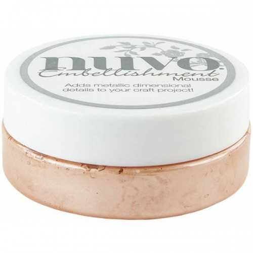 Nuvo Embellishment Mousse - Coral Calypso