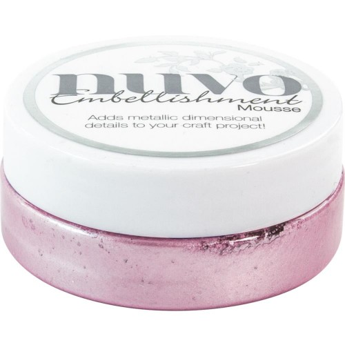 Nuvo Embellishment Mousse - Lilac Lavender