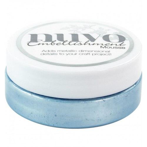 Nuvo Embellishment Mousse - Cornflower blue