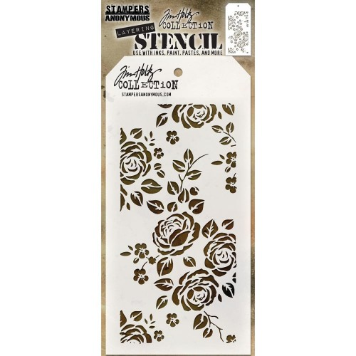 Tim Holtz Layered Stencil - Roses