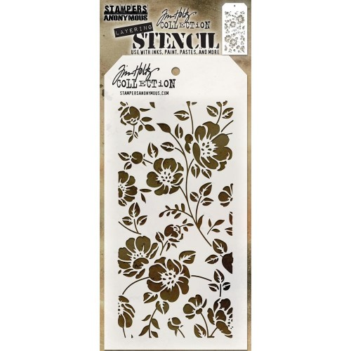Tim Holtz Layered Stencil - Floral