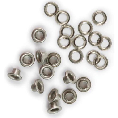 WE R MEMORY KEEPERS-Eyelets & Washers. Nickel