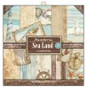 Kit de papeles de Scrapbooking Stamperia - Sea Land