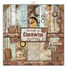 Kit de papeles de Scrapbooking Stamperia - Clockwise