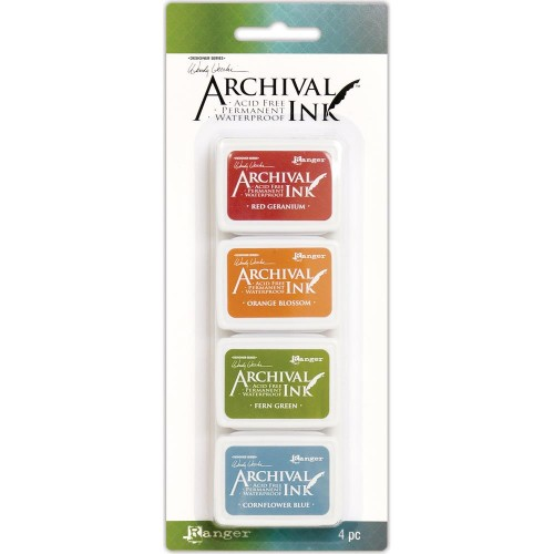 Wendy Vecchi Mini Archival Ink Pad - Kit 4