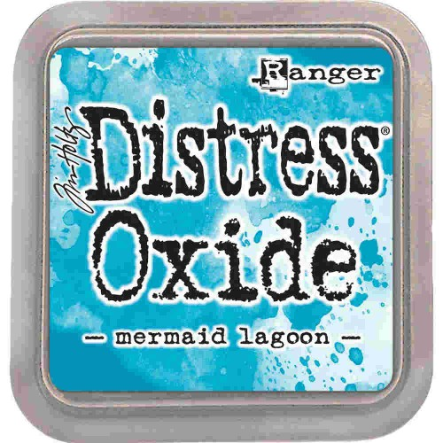 Tinta Distress Oxide Tim Holtz - Mermaid Lagoon