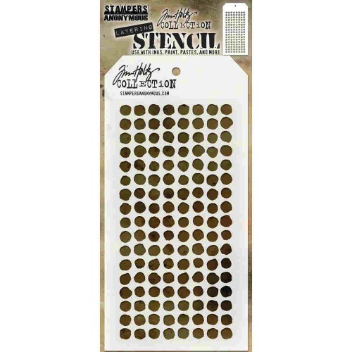 Tim Holtz Layered Stencil - Dotted