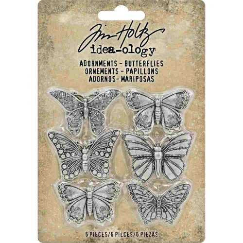 Kit adornos mariposas Idea-ology Tim Holtz