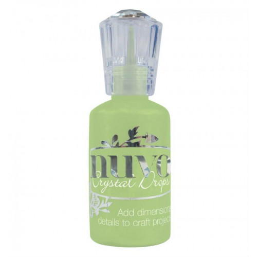 Nuvo Crystal Drops Gloss - Apple green