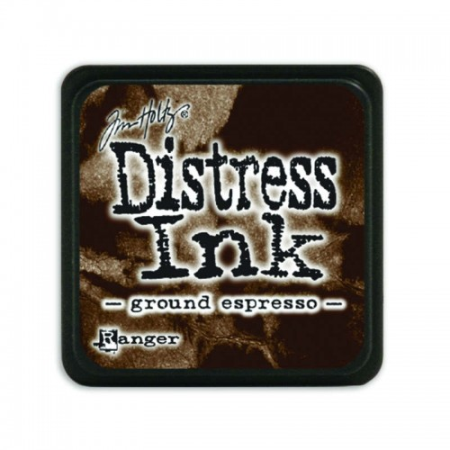 Tinta Distress Mini Ground Espresso.