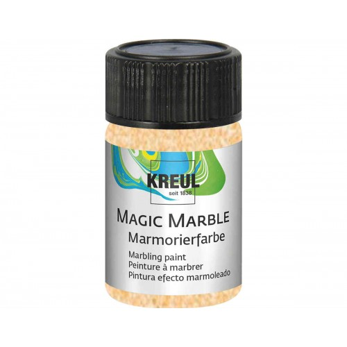 Pintura marmoleada MAGIC MARBLE purpurina oro 20 ml.