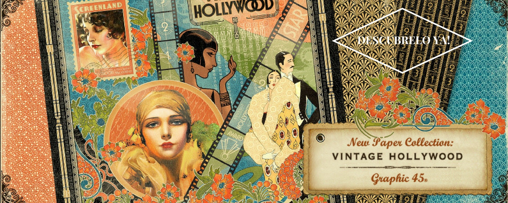 Vintage Hollywood Graphic 45